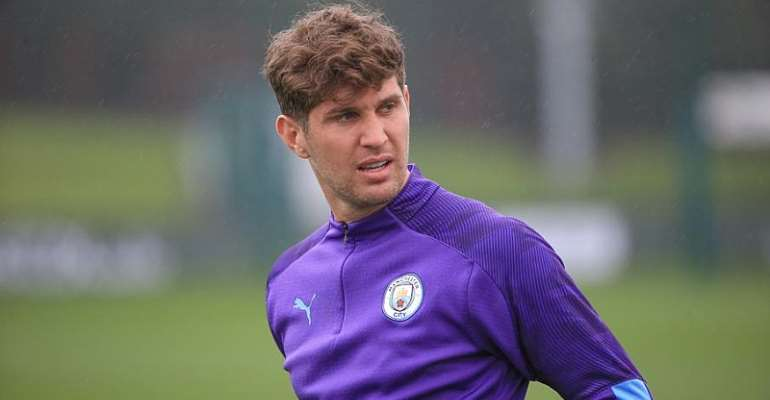Manchester City Blow As Stones Ruled Out Of Shakhtar Clash