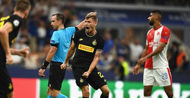 UCL: Barella Rescues Inter With Stoppage-Time Equaliser