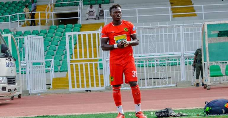 Richard Arthur Vows To Score More Goal For Kotoko After Breaking Goal Drought