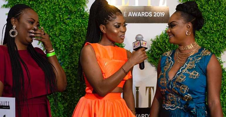 Eazzy Hosts Former First Lady Nana Konadu Agyeman Rawlings, Joe Mettle, Pappy Kojo & More At The 2019 Glitz Style Awards Red Carpet