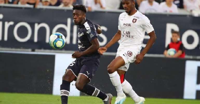 Ghana Defender Enock Kwateng Name In French Ligue 1 'Team Of The Week'