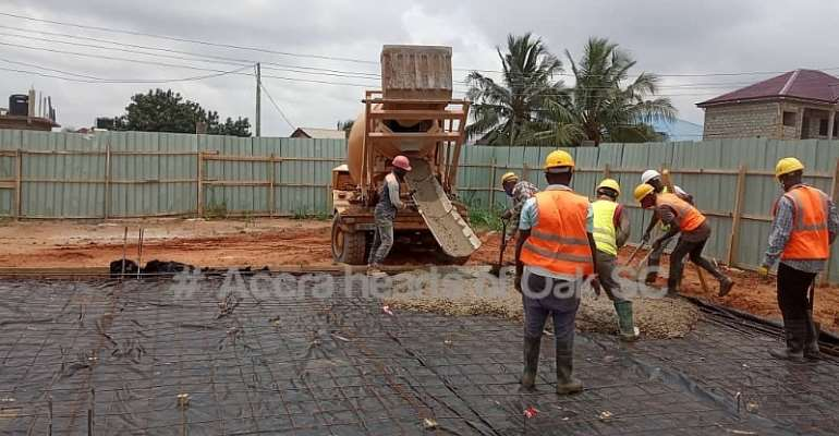 PHOTOS: First Phase Of Hearts Of Oak's Pobiman Academy Project Nears Completion