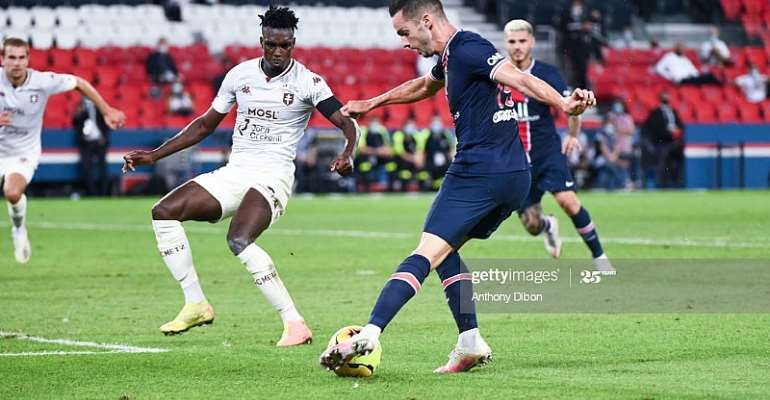 Stats Check: Defender John Boye Earn High Marks In FC Metz Narrow Defeat To PSG