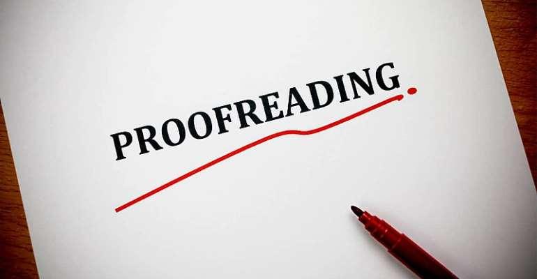 Let's Emphasise Online Proofreading