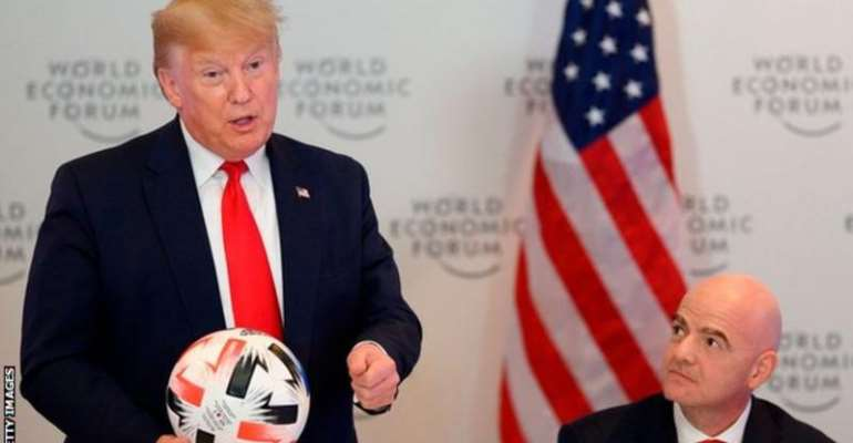 Fifa President Meets Donald Trump To Discuss 2026 World Cup