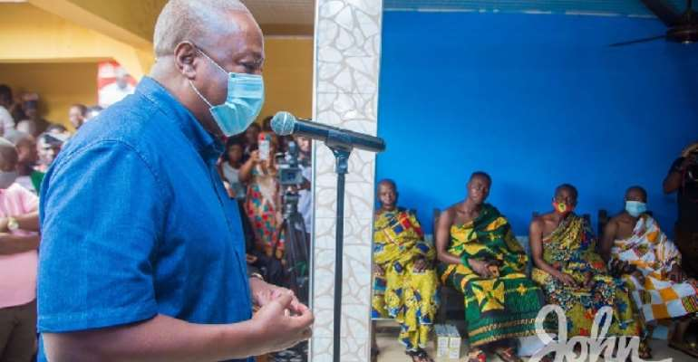 I'll Upgrade Amantin Health Centre To A Polyclinic – Mahama Promises