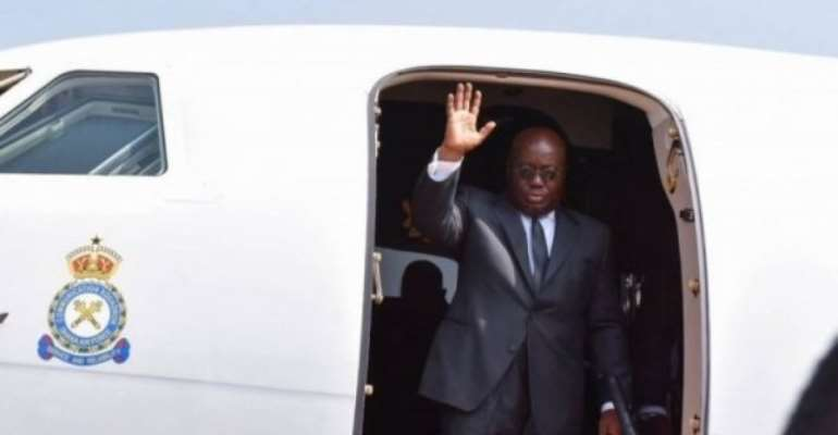 Akufo-Addo fly to Guinea to talk to coup leaders