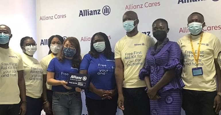 Allianz Insurance launches promotion to give free first aid kits to customers