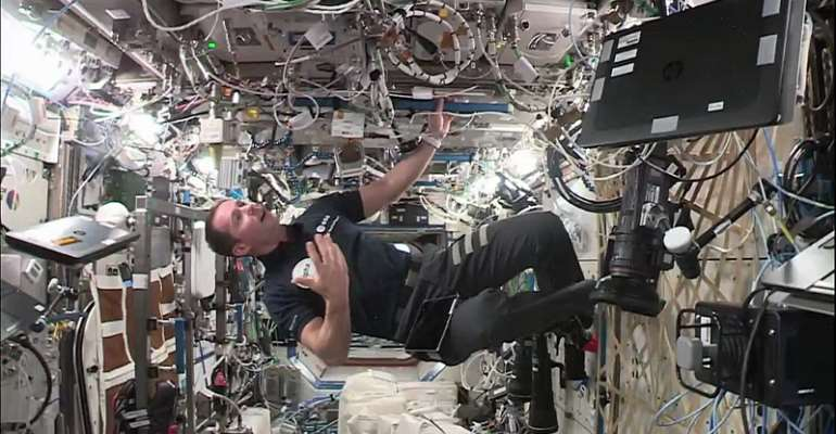 RFI Exclusive: At home with space odyssey Thomas Pesquet aboard the ISS