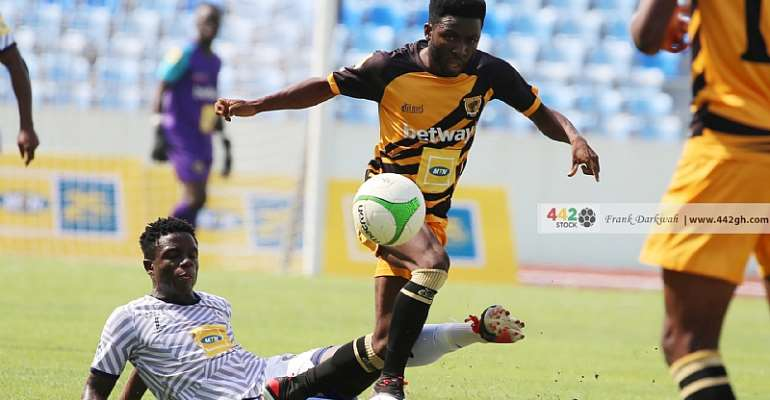 Ashantigold midfielder Seth Osei eager and ready to join Asante Kotoko