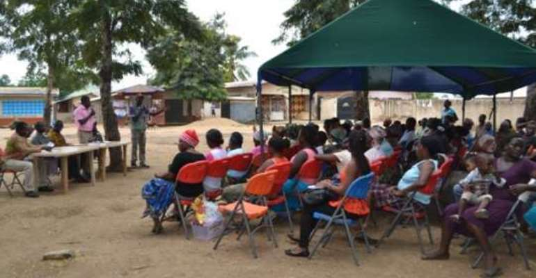 SEND Ghana holds community durbar on budget