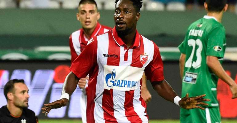 'We Are Not Scared Of Champions League Big Boys', Says Red Star Belgrade's Richmond Boakye Yiadom