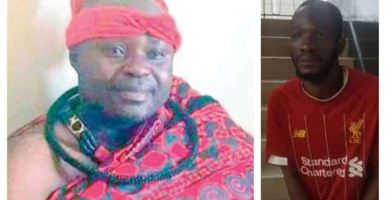 Prime Suspect In Murder Of Otumfuo Asamponhene arrested