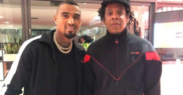 Kevin Prince Boateng Meets Award-Winning Hip Pop Star Jay-Z