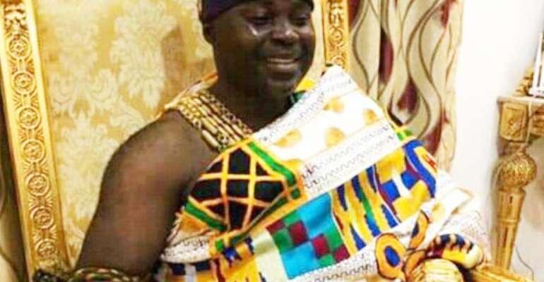 The late Asamponhene, Nana Kwadwo Aforduo