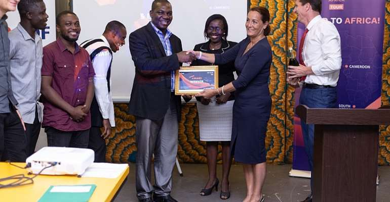 Start-Up SETECH Adjudged Winner Of EDF Pulse Africa Ghana