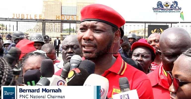 Bernard Mornah Leads Group On 'Y33 Wu' Demo On Thursday In Kumasi