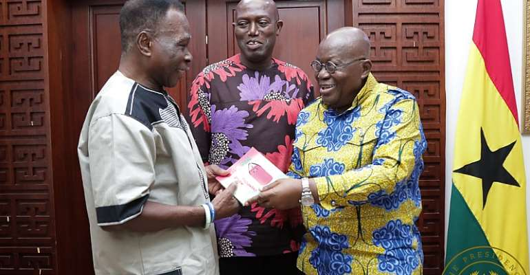 Akufo-Addo To Look Into D.K. Poison's Case