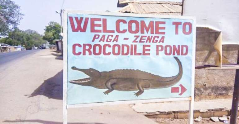 US$40m To Facelift Paga Crocodile Pond, Others