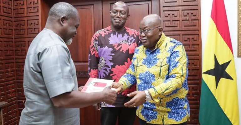 Prez. Akufo-Addo Endorses The 'Celebration of Our World Champions' Authored By Ekow Asmah