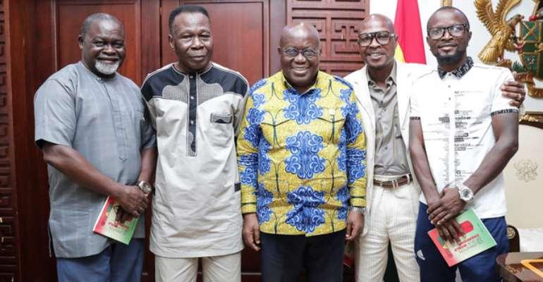 Akufo-Addo Endorses Celebration Of Our World Champions Book