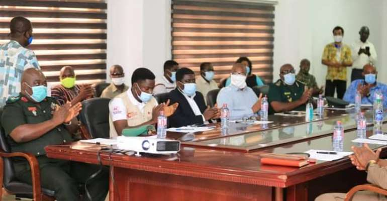 NADMO Conducts Election 2020 Simulation Exercise
