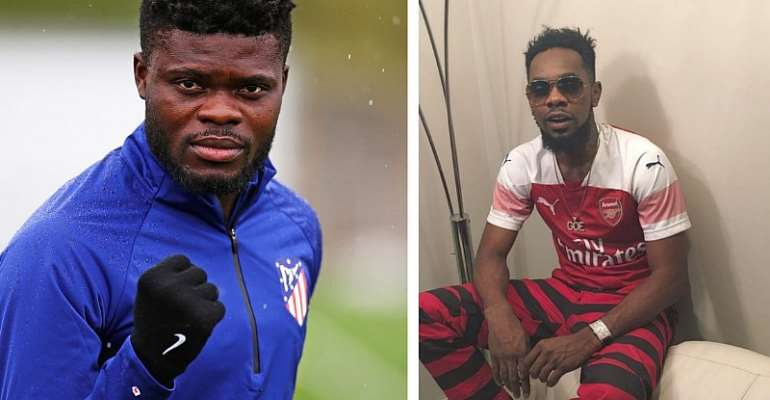 Patoranking Pleads With Ghana Star Thomas Partey To Join Arsenal