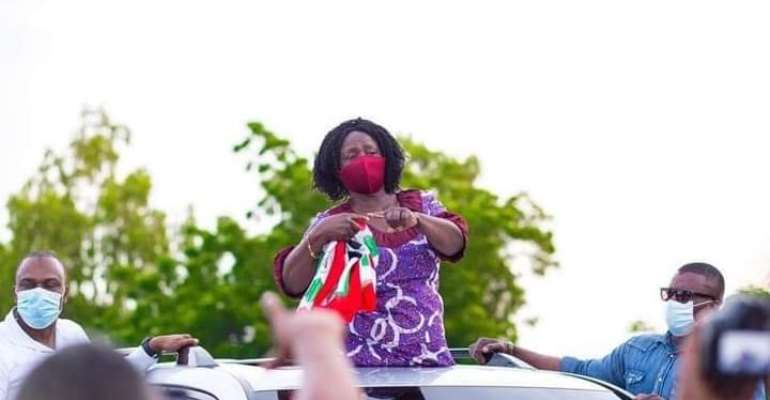 Jane Naana Assures Western Region NDC's Commitment If Voted Into Office