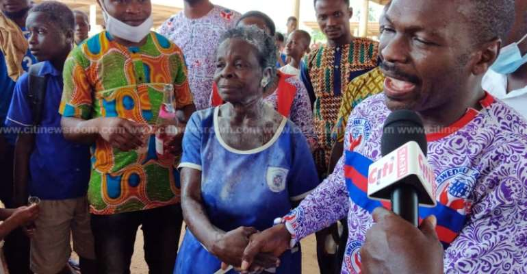 57-Year-Old Mother Completes BECE Today