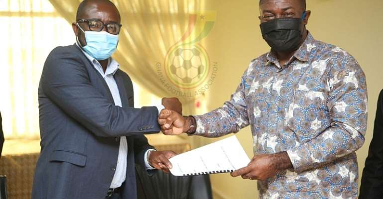 GFA, STC Sign MoU For Referee Transport Programme