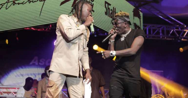 Shattawale And Stonebwoy: Kings Forever In Asaase Sound Clash Challenge