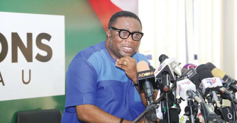 Elvis Afriyie-Ankrah rubbish reports of bullet proof vests, guns for NDC polling agents for 2024