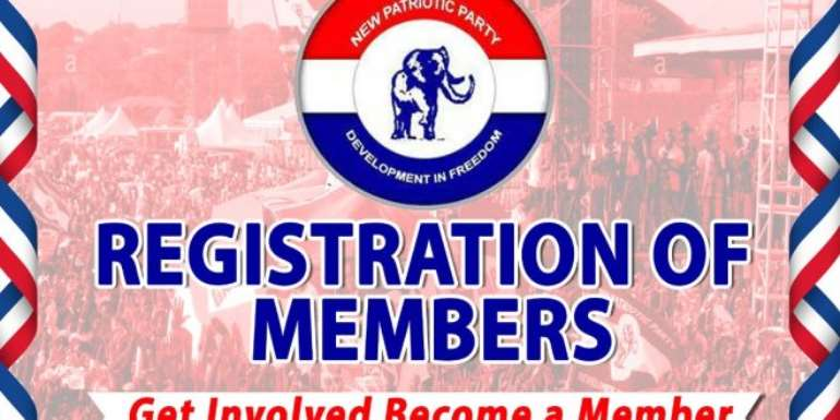 Two Days To Go, And Enthusiasm Of NPP Registrants Target of 6.7million In Ghana Falls Below 10%