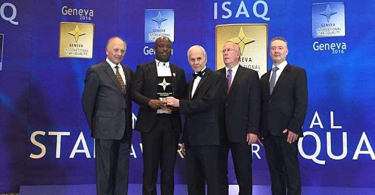 Volta Serene Hotel wins top Global Quality Award