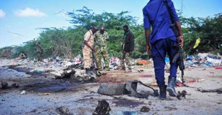 Somali general killed in suicide bombing