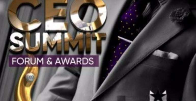 Maiden edition of Ghana CEO's summit and Awards to take off soon