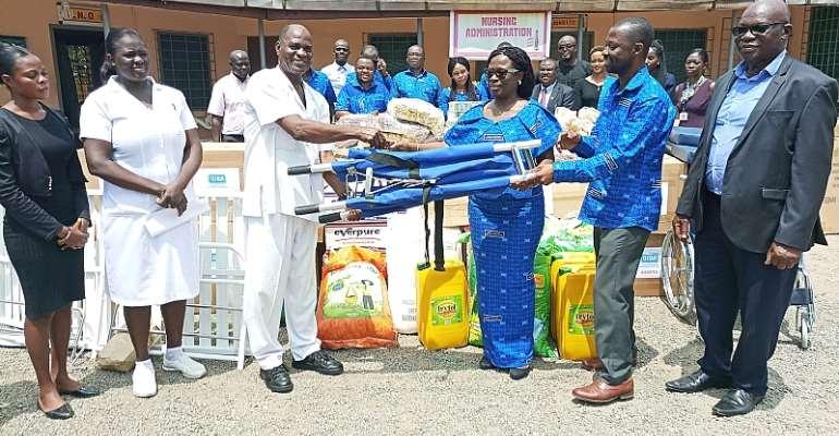 GIBA Supports Accra Psychiatric Hospital