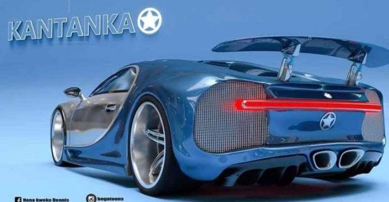 Kantanka's dream of reality: The Bugatti Car
