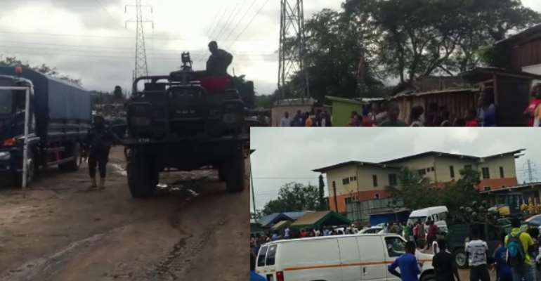 16 Grabbed In Military-Police Swoop In Yeji