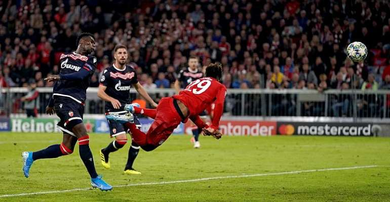 UCL: Lewandowski Strikes Again As Bayern See Off Red Star