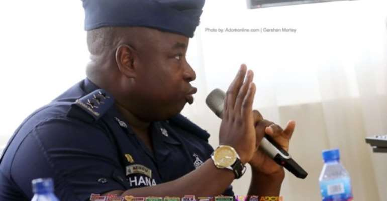 SWAT Commander DSP Samuel Kojo Azugu