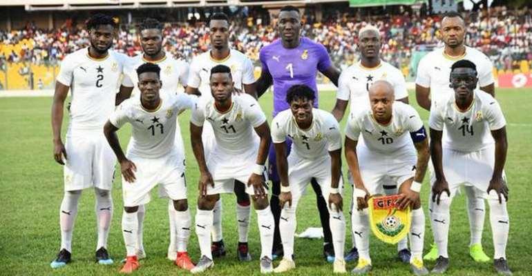 Ghana Drops In Latest FIFA Rankings