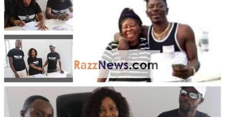Shatta Wale's Mother Signs Juicy Ambassadorial Deal With F.C.T