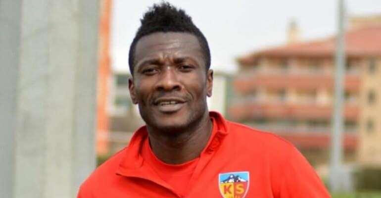 Asamoah Gyan Signs For Indian Super League Side NorthEast United