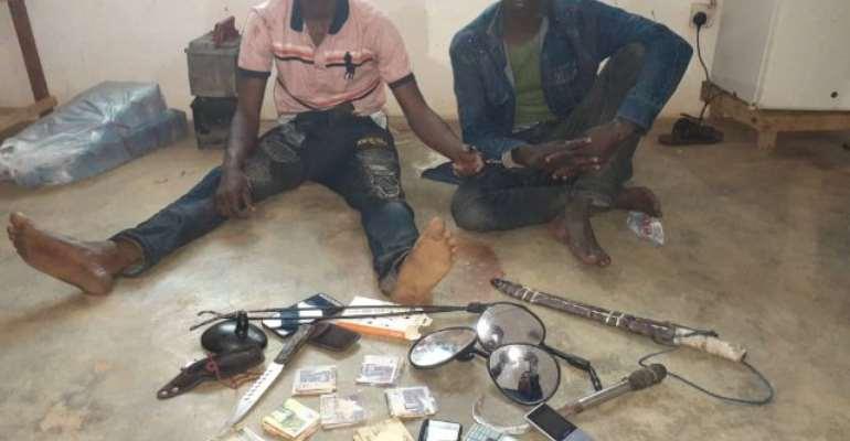 N/R: Police Arrest Two Suspected Highway Robbers