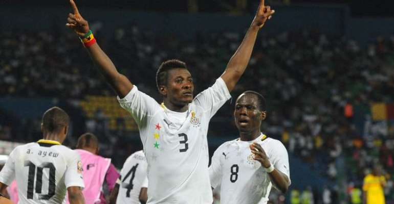 Ghana Legend Asamoah Gyan Earns Applauds From GOC President