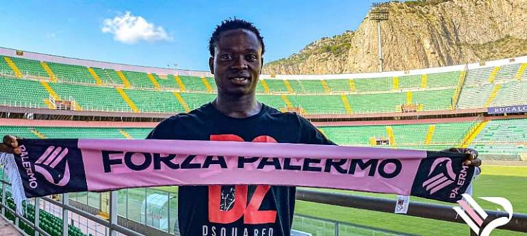 OFFICIAL: Palermo FC Announce Signing Of Ghanaian Midfielder Moses Odjer