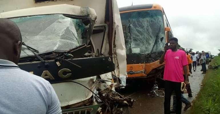 Odumase-Konongo Car Crash Leaves Three In Critical Condition