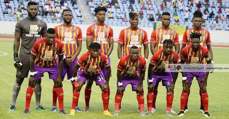 Caf Champions League: Samuel Boadu announces Hearts of Oak starting XI against CL Kamsar