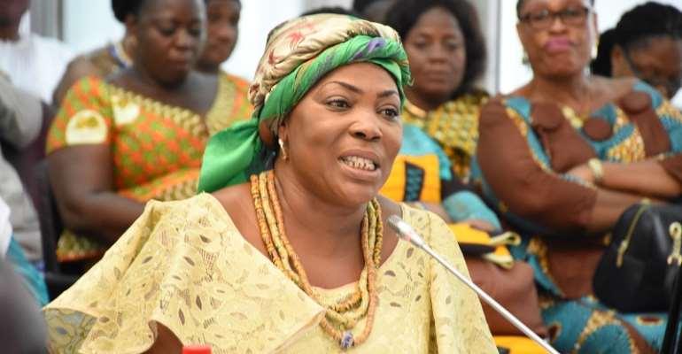 Elizabeth Sackey named as Accra Mayor; Adjei Sowah removed